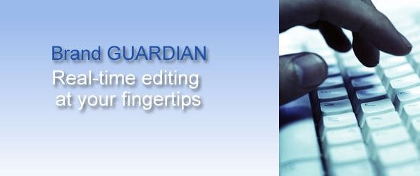 Brand GUARDIAN Real-Time Editing